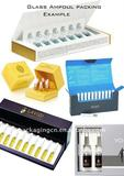 Glass Ampoul packing, Cosmetic Gift box, Cosmetic packaging