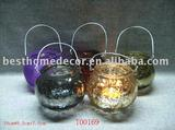 candle holder glass candle holder tealight holder