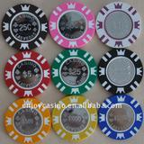 16g casino professional coin inlay poker chip