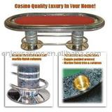 Deluxe 96 inch Holdem Table - Raceway and Cupholders