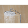 wall mounted bath faucet rain shower three function electroplated bath shower set 304 stainless hand shower