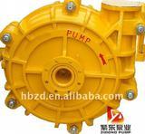 Metal liner and rubber liner horizontal slurry pump