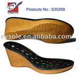 Ladies sandal shoe sole