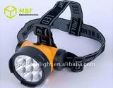 7 Strawhats LED plastic material mining led flashlights led headlamp