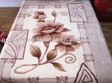 100% Polyester Reactive Printed Raschel Blanket