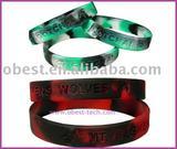 2011 promotional silicone bracelet