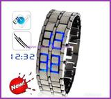 Fashion Led watches with blue light