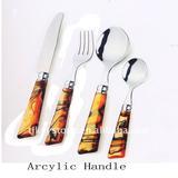 Acrylic Handle NO.127 cutlery set