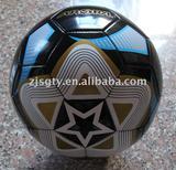 soccer ball and football