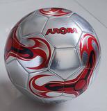 Metallic gift PVC rubber soccer ball football