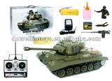 1:16 Rc tank /1/16 M26 Pershing Snow Leopard BB Radio Controlled Tanks with smoking and sound