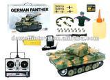 1:16 rc panzer tank/german panther tank with smoking and sound