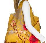 Polyester shoulder shopping bags