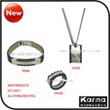 2011 New Stainless Steel Jewelry Sets For Man
