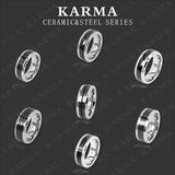 New Ceramic& 316L Stainless steel Rings
