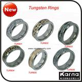 2011 Newest Facet Tungsten Ring