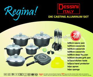 23 Pcs Dessini Cookware Set China Suppliers 371539