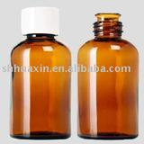 500ml amber  glass bottle, 500-21, sample glass bottle for fragrance and flavour