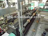 High speed plastic bag sealing and cutting machine