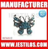 Blue stone ring slip ring gold rings design for women