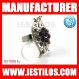 2012 fashion jewelry big ring diamond wedding ring napkin ring wholesale