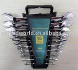 CRV DIN Standard Combination wrench in Set