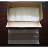 HDPE transparent Plastic Flat food bag