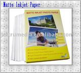 Matte Coated Color Inkjet Paper