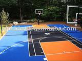 polyurethane (pu glue) basketball court