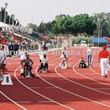 mixed running track (pu glue)