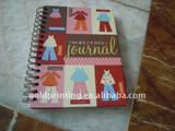 hardcover spiral diary book