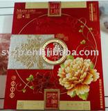 decorative glossy metallized aluminum foil box