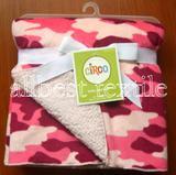 ultra supple baby blanket Super soffice coltre blanket short plush baby blanket fleece blanket polyester blanket