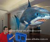 Remote Control Flying Clown Fish Toy, good quality, BT008