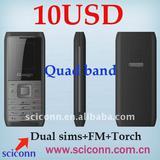 Low cost quad band phone M100