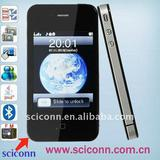 Quad band touch screen mobile phone i69 4G with dual camera