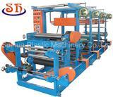 1-4 Color Simple Rotogravure Plastic Printing Machine