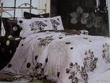 Jacquard satin bedding set