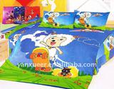 100% cotton cartoon kids bedding set