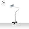 Magnifying lamp for beauty salon use