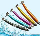 Dental supply/color push button dental high speed handpiece