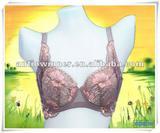 Organic cotton fashion lace bra