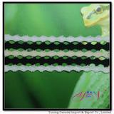 NEW!  Afia  wide  colorful   jacquard  cotton lace YN-H0938