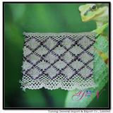 Afia  WIDE!  colorful jacquard   diamond cotton lace YN-H0977
