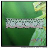 Afia  100% wide  colorful jacquardcotton lace YN-H0014B