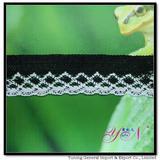 Afia   colorful   jacquard side   cotton lace YN-H0976B