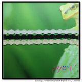 Afia  wide  colorful jacquardcotton lace YN-H0935