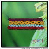 Afia   colorful  jacquard   cotton lace YN-H990