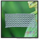Wide!  Afia  jacquard gold silver silk cotton lace YN-H0711silver