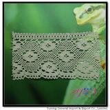 Afia 100%  cotton  lace  WIDE! YN-H0942